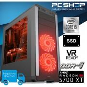 PC Računalo MagazinRS Gamer Intel i5 10400F 4.3Ghz Turbo, 5700 XT, 8GB DDR4 RAM, SSD 480GB