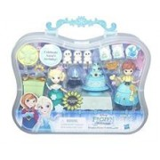 Set Figurine Hasbro Disney Princess Small Doll Little Kingdom Disney Frozen Fever Celebration Elsa & Anna Playset