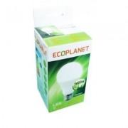 Bec cu LED Ecoplanet A60 7W, E27, 2700K lumina calda