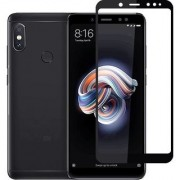9H Full Glue 5D Tempered Glass Guard Protector for REDMI NOTE 5 PRO (BLACK) 5.99 inch
