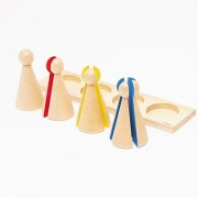 ?MONTE Kids? Montessori teaching materials - for fractional dwarf teaching materials - Montessori Educational toys teaching early childhood early education Monte Kids real authentic teaching materials mathematics toys - dwarfs of fractions