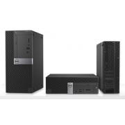 Desktop, DELL OptiPlex 7050 SF /Intel i5-7500 (3.4G)/ 8GB RAM/ 128GB SSD/ Win10 Pro + подарък Mouse&KBD (N011O7050SFF02)