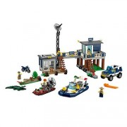 Lego City Police Swamp Police Station, Multi Color