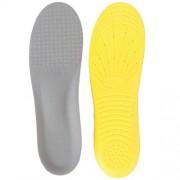 ELECTROPRIME Memory Foam Insoles + PU Shoe Insoles Height Increasing Shoe Pad DIY Cutting