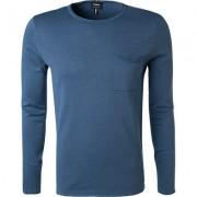 Strellson Pullover Herren, Baumwolle, blau