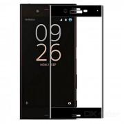 Protector de pantalla de cristal templado para Sony Xperia XC - negro