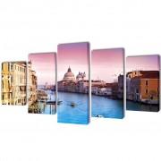 vidaXL Декоративни панели за стена Венеция, 200 x 100 см