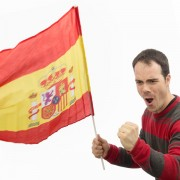 Spanyol zászló 60 x 90cm es rúddal MOST 3689 HELYETT 539 Ft-ért!