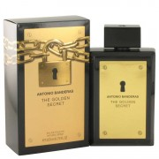 Antonio Banderas The Golden Secret Eau De Toilette Spray 6.7 oz / 198.14 mL Men's Fragrances 524642