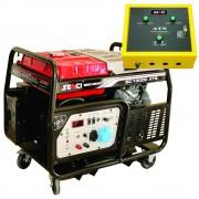 Generator De Curent Senci, Sc-13000-Ats, Putere Max. 12 Kw, 230V, Avr, Motor Benzina