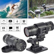 HAN-GANG Sports DV Camera, Full HD 1080P Mini Sports DV Camera Bike Motocicleta Casco Acción DVR Video CAM Sports Action Camera Perfecto para Deportes al Aire Libre