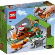 Конструктор Лего Майнкрафт - Приключение в тайгата ,LEGO Minecraft, 21162