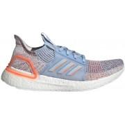 adidas UltraBOOST 19 - scarpe running neutre - donna - Light Blue/Orange
