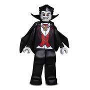 LEGO Vampire Prestige Costume, Black, Large (10-12) by Disguise