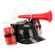 Casco dispensador de Bebidas con Trompeta