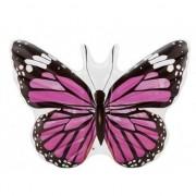 Merkloos Grote opblaas vlinder 191 cm roze