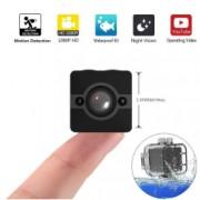 Mini Camera Spion iUni SQ12 Full HD 1080p Audio Video Night Vision Unghi filmare 155 grade Bonus Bratara Roca Vulcanica unisex