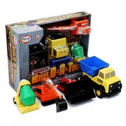 Mix or Match - Magnetic Build a Truck Building Set by Popular Playthings 60401