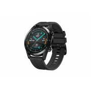 Huawei Watch GT2 46mm, Black Fluoroelastomer Strap - černá