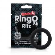 Screaming O Ritz XL - szilikon péniszgyűrű (kék)