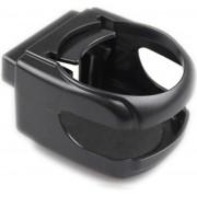 Auto Bekerhouder - Frisdrank Blik Houder - Blikjeshouder Ventilatierooster - Fles Houder - Koffie Houder - Auto Accessoire - Zwart - 1 Stuk