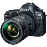 Canon Eos 5d Mark Iv + Ef 24-105mm F/4 L Is Ii Usm - 2 Anni Di Garanzia In Italia