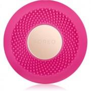 FOREO UFO™ Mini звуков уред за ускоряване ефекта на маските за лице малка опаковка Fuchsia