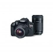 KIT Cámara Canon Eos Rebel T6 Con EF-S 18-55mm + Lente EF-S 55-250mm IS + Maleta + Tarjeta SD 16 Gb