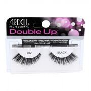 Ardell Double Up 202 nalepovací řasy pro dramatický pohled 1 ks odstín Black pro ženy
