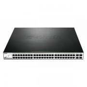 D-link 48-Port Gigabit Smart PoE Switch DGS-1210-52P