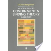 Introduction to Government and Binding Theory (Haegeman Liliane)(Paperback) (9780631190677)