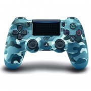 Joystick PS4 Sony Dualshock Wireless Para PlayStation 4-Camuflado Azul