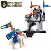 Generic Enlighten Kids Castle Knights Outposts Heros Gifts Toys Blocks Models Building Block Blocks for Children Compatible nanoblock 1015
