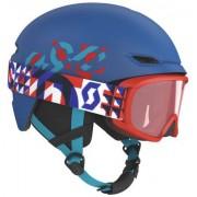 Scott Keeper 2 Junior Skidor Hjälm + Witty Junior Goggles (Dark Blue)