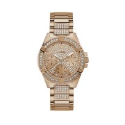 Guess Ladies Frontier Rose Gold Crystal Face Model W1156L3