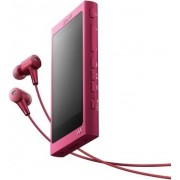MP3/MP4 Player Sony Walkman NW A35HN, Ecran tactil, Bluetooth, NFC, Wireless, LDAC, 16GB, Casti (Roz)