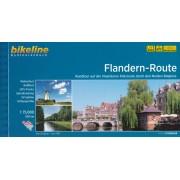 Fietsgids Bikeline Flandern-Route (vlaanderen route) | Esterbauer