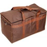 Atorakushon (Expandable) ® Folding Carrying Case Travel Duffel Luggage Bag Cum Attachi Storage Organizer Bag Shopping Picnic Outing Brown Travel Duffel Bag(Brown)