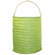 My Party Suppliers Imported Premium Paper Candle Lanterns / Paper Lantern – Green