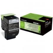 Lexmark 80C2HK0 - 802HK toner negro