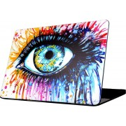 Mobigear Hard Case Color Eye voor Apple MacBook Air 13 inch