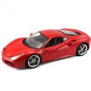 Bburago Ferrari - модел на кола 1:18 - Ferrari 488 GTB, 0939116