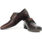 Clarks Hardies Dream Genuine Leather Slip On Shoes For Men(Brown)