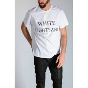 Neil Barrett T-shirt WHITE LIGHTNING in Jersey taglia Xxs