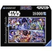 Puzzle Star Wars I-vII, 18000 piese
