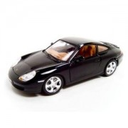 Bburago Porsche 911 Carrera 4 Black 1:18 Diecast Model Burago Toy Car For Kids - Multi Color
