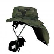 Kapelusz wojskowy turystyczny Boonie Hat PL woodland WZ.93 Camo