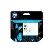 Cabeça de impressão 88 black e yellow C9381A HP