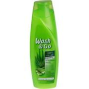Sampon WASH and GO Volume 400 ml Pentru Par Uscat Cu Extract de Aloe Vera
