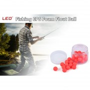 LEO Pesca De Flotador De Bola 30pcs Bean Shape EPS Foam Float Ball For Outdoor Fishing